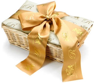Hand-tied luxury ribbon tailored to the occasion of your choice