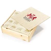 Lindt Lindor Truffles in Wooden Box