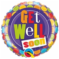 """Get Well Soon"" Balloon"
