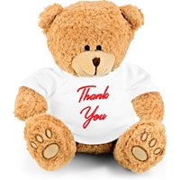 "Embroidered ""Thank You"" Teddy Bear"