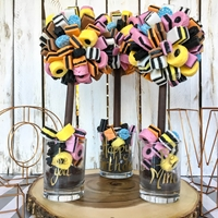Happy Birthday Allsorts Licorice Sweet Tree, 25cm