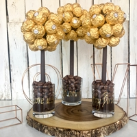 Mothers Day Ferrero Rocher Sweet Tree, 25cm