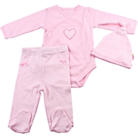 Minene, Newborn baby Surprise Gift Set Its A Girl (Pink)