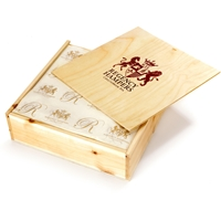 Easter Bunny Lindt Truffle Selection in Wooden Box