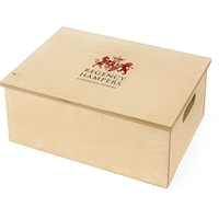 Seasons Greetings Hamper in Wooden Box