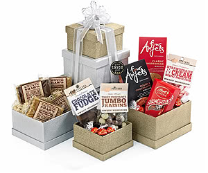 Sweets & Treats to Share Gift Tower