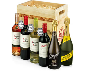 Six-Bottle Classic Wine Crate