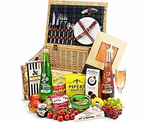 Alcohol-Free Stanton Fitted Picnic Hamper
