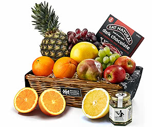 The Fruit & Nut Gift Basket