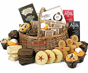 Large Muffin, Flapjack & Biscuit Gift Basket