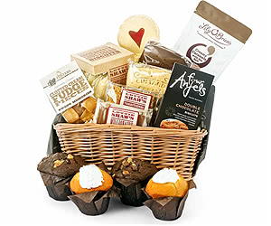 Muffin, Flapjack & Sweet Share Basket
