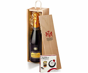 Sparkling Prosecco with Chocolates in Gift Box