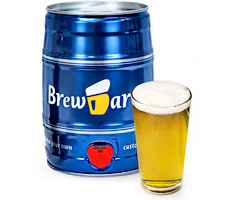 BrewBarrel Deluxe Home Brewing Kit for Bavarian Lager