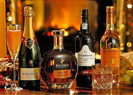Christmas Wine Gifts, Champagnes and Spirits