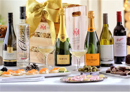 Champagne, Spirit & Wine Hampers