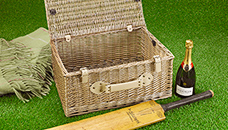 Empty Hamper Baskets and Wicker Picnic Baskets