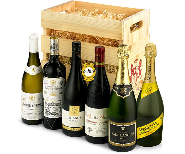 Six-Bottle Old World Favourites Wine Crate