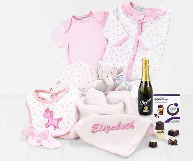 Bundle Of Joy with Prosecco & Chocolates