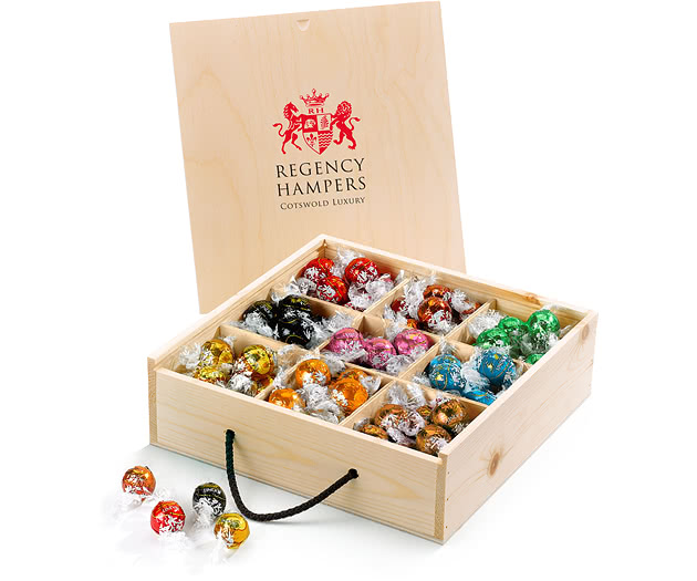 Confectionery Gift Box With Lindor Truffles