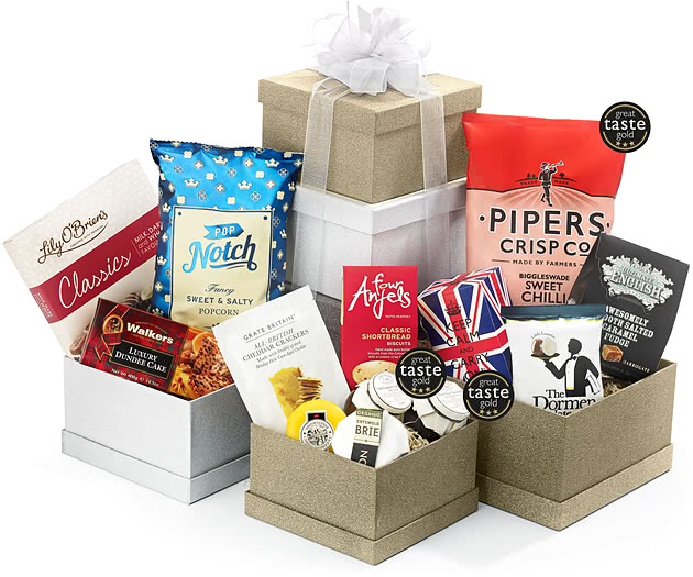 Best of British Gift Tower