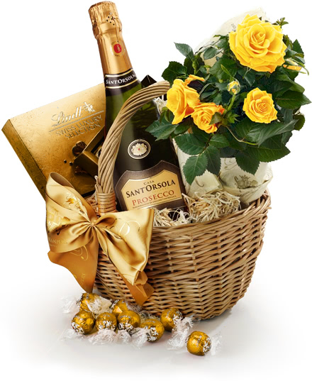 The Roses, Chocolate & Prosecco Hamper