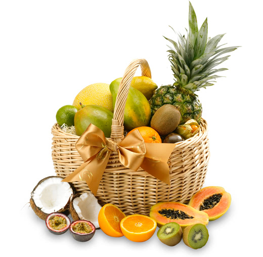 The Exotic Fresh Fruit Basket