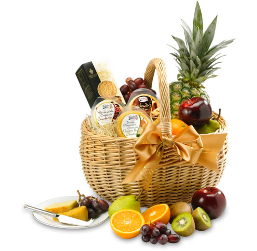 Fresh Fruit, Cheese & Biscuits