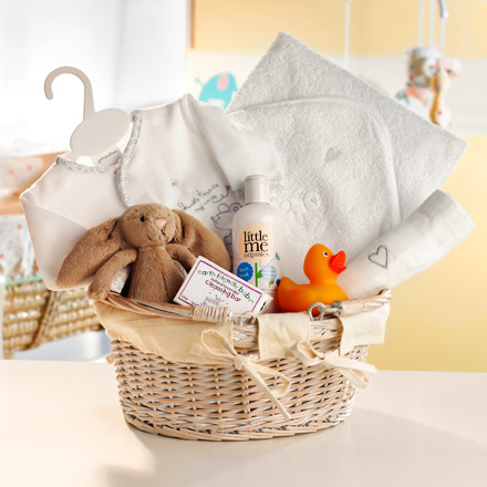 Rub-A-Dub-Dub Cream Baby Bath Time Hamper