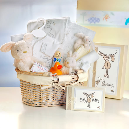 Incy Wincy Spider Cream Baby Hamper