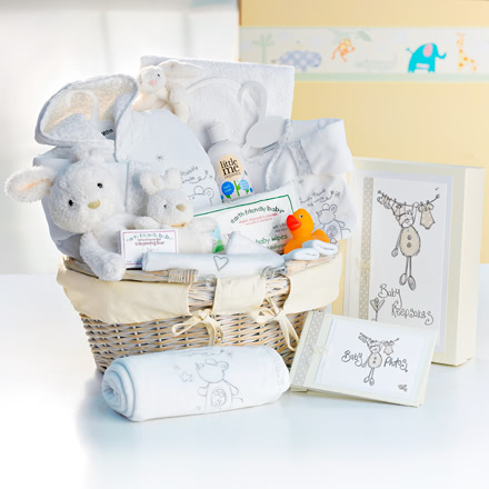 Twinkle, Twinkle, Little Star Cream Baby Hamper