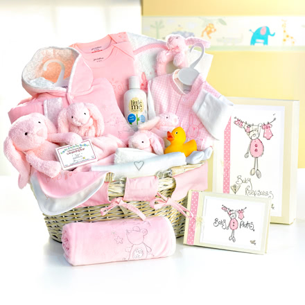 Twinkle, Twinkle, Little Star Pink Baby Hamper
