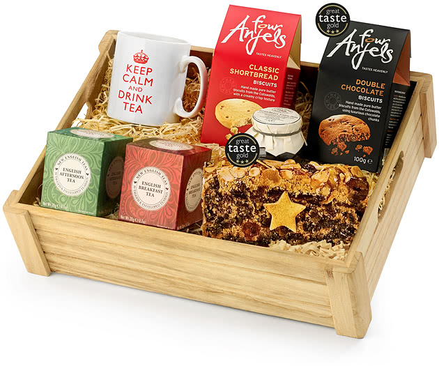 Tea Lovers Gift Set in Wood
