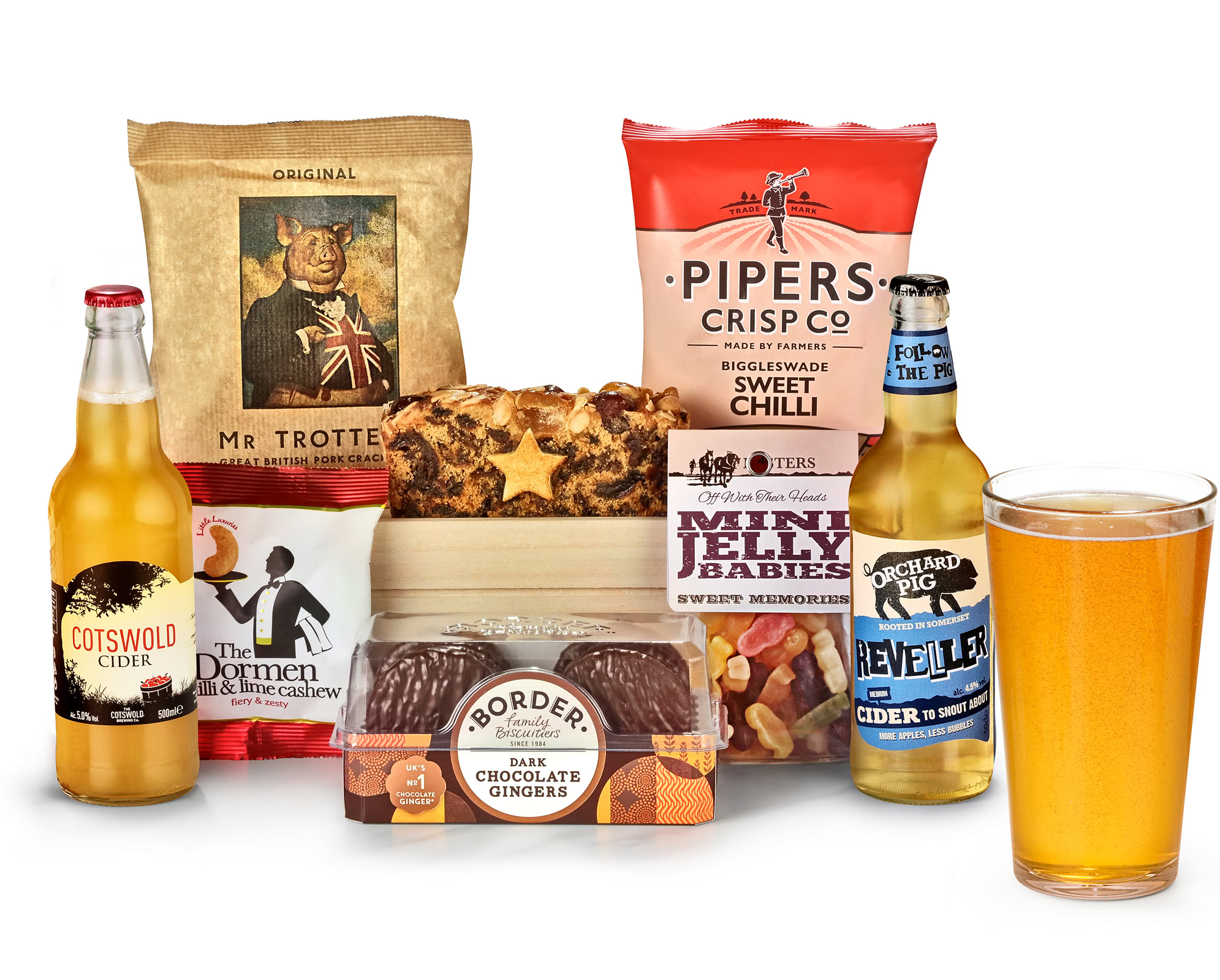 Man Crate & Snack Selection