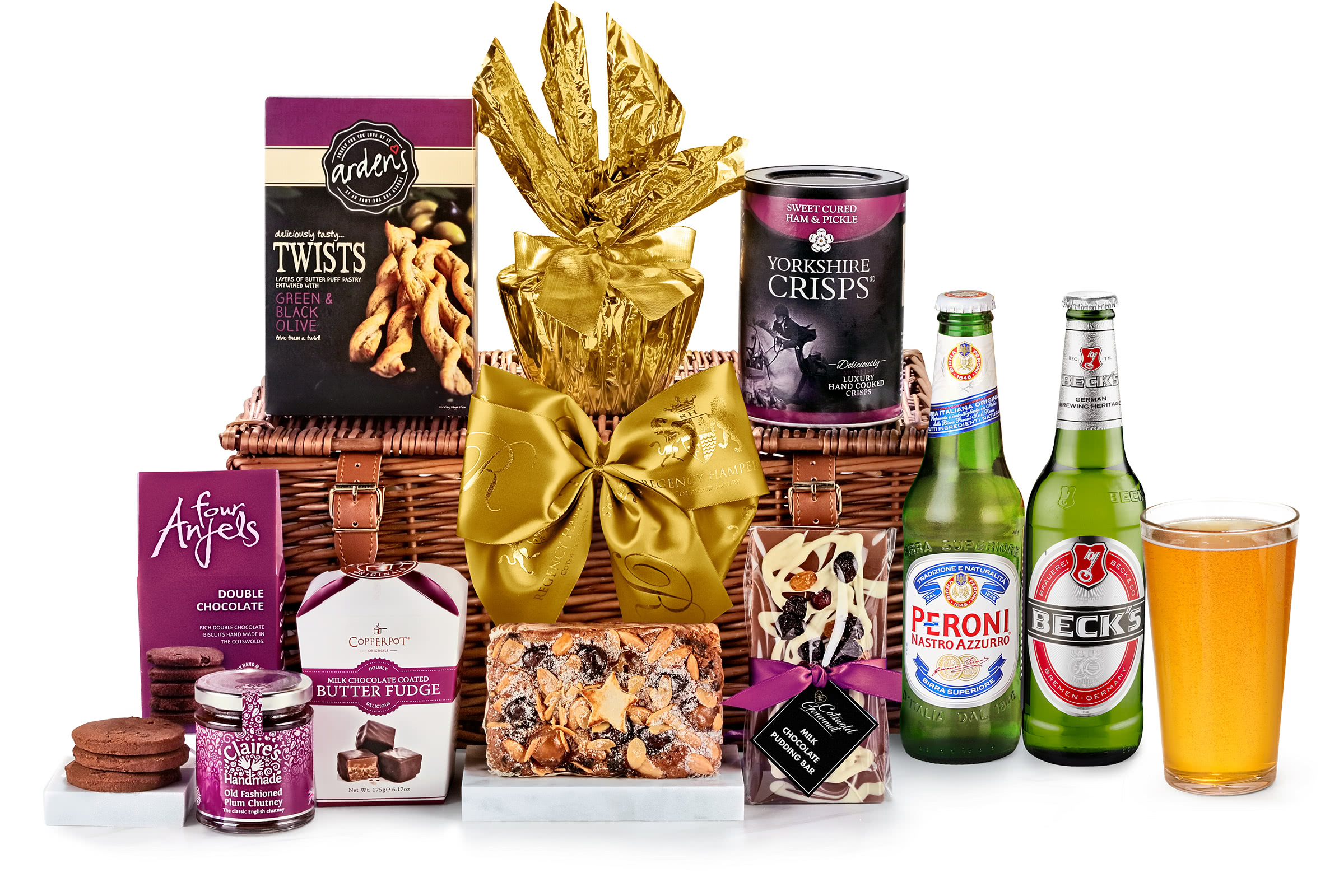 Chalford Hamper With Beer