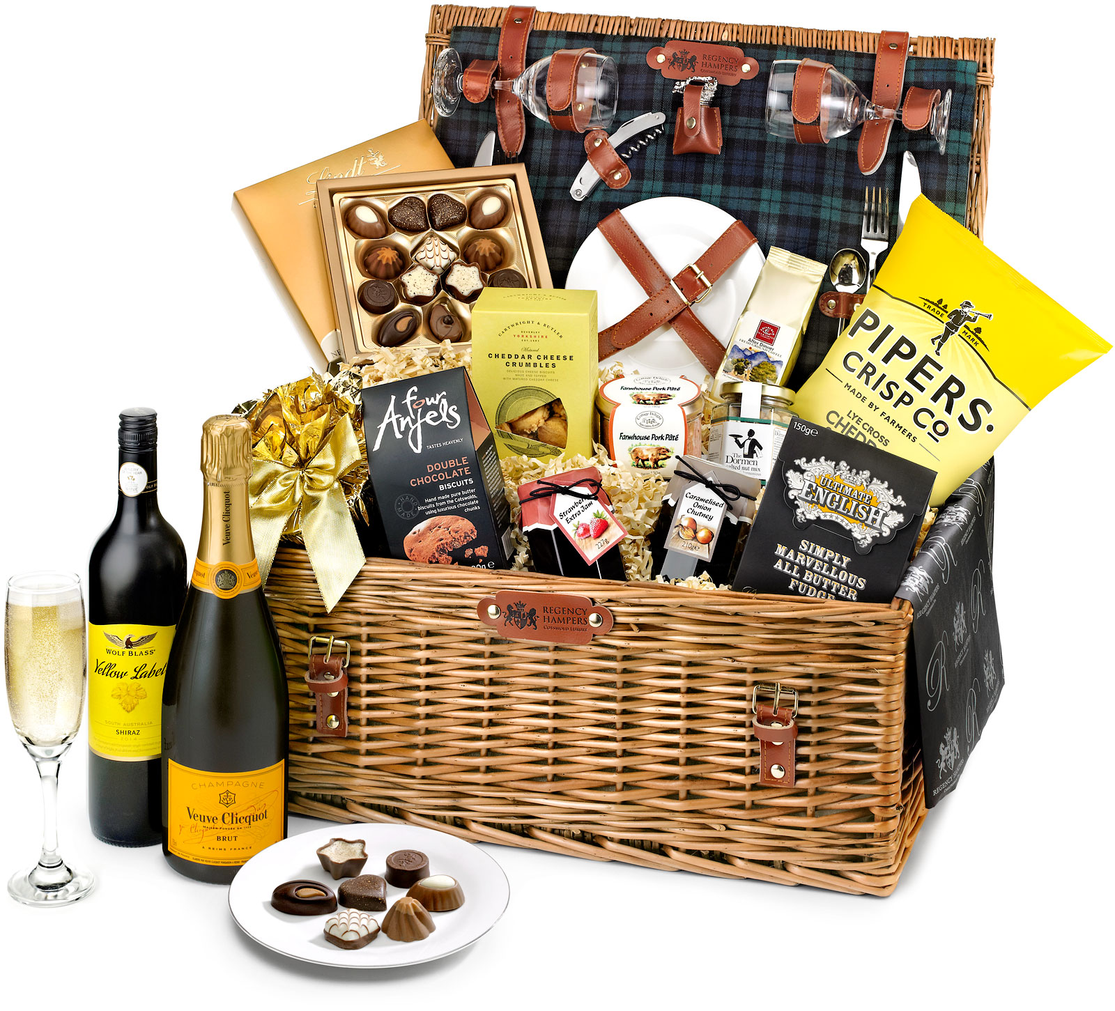 Veuve Clicquot Montpellier Fitted Picnic Hamper