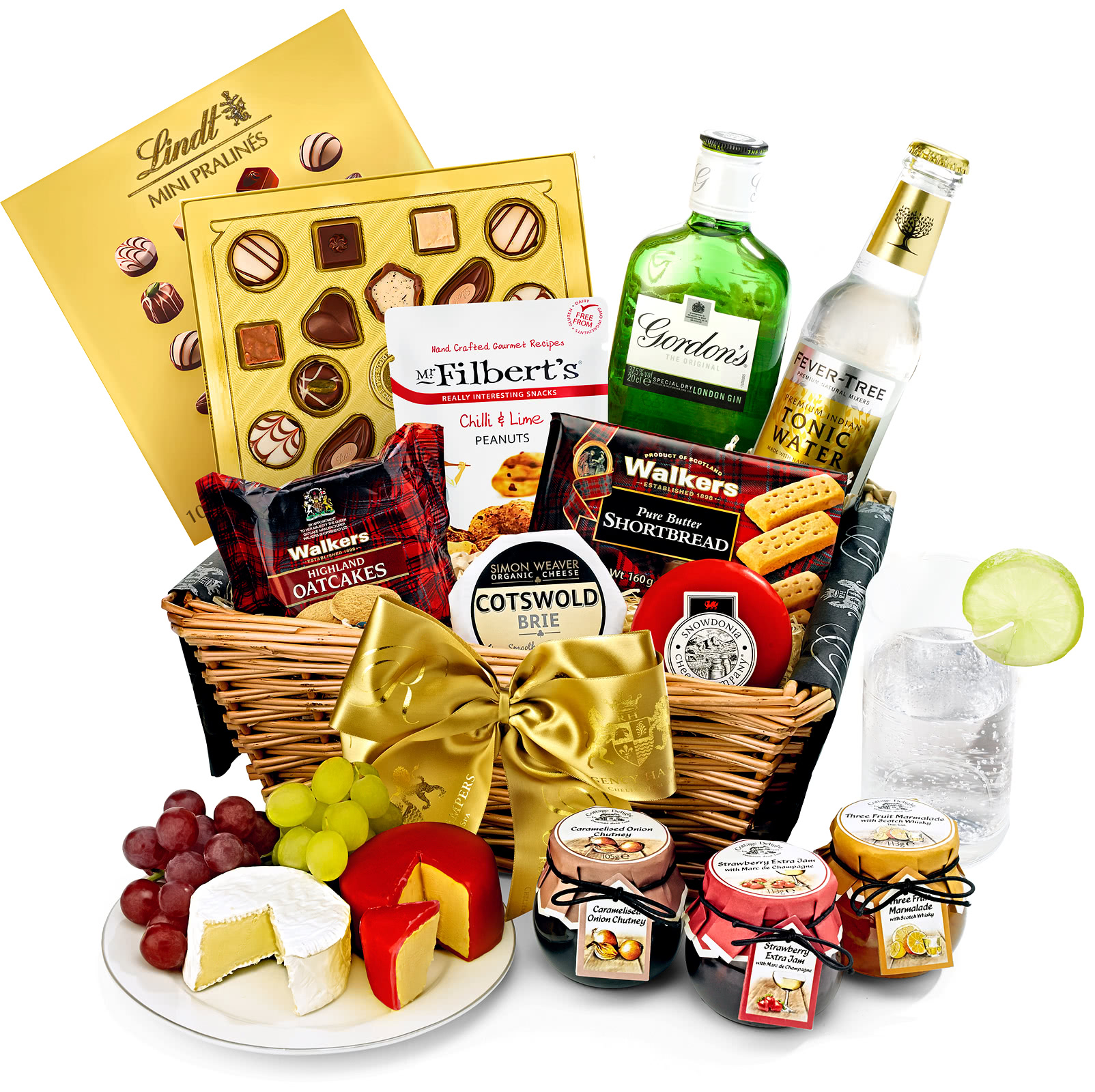 Gin & Tonic Withington Gift Basket