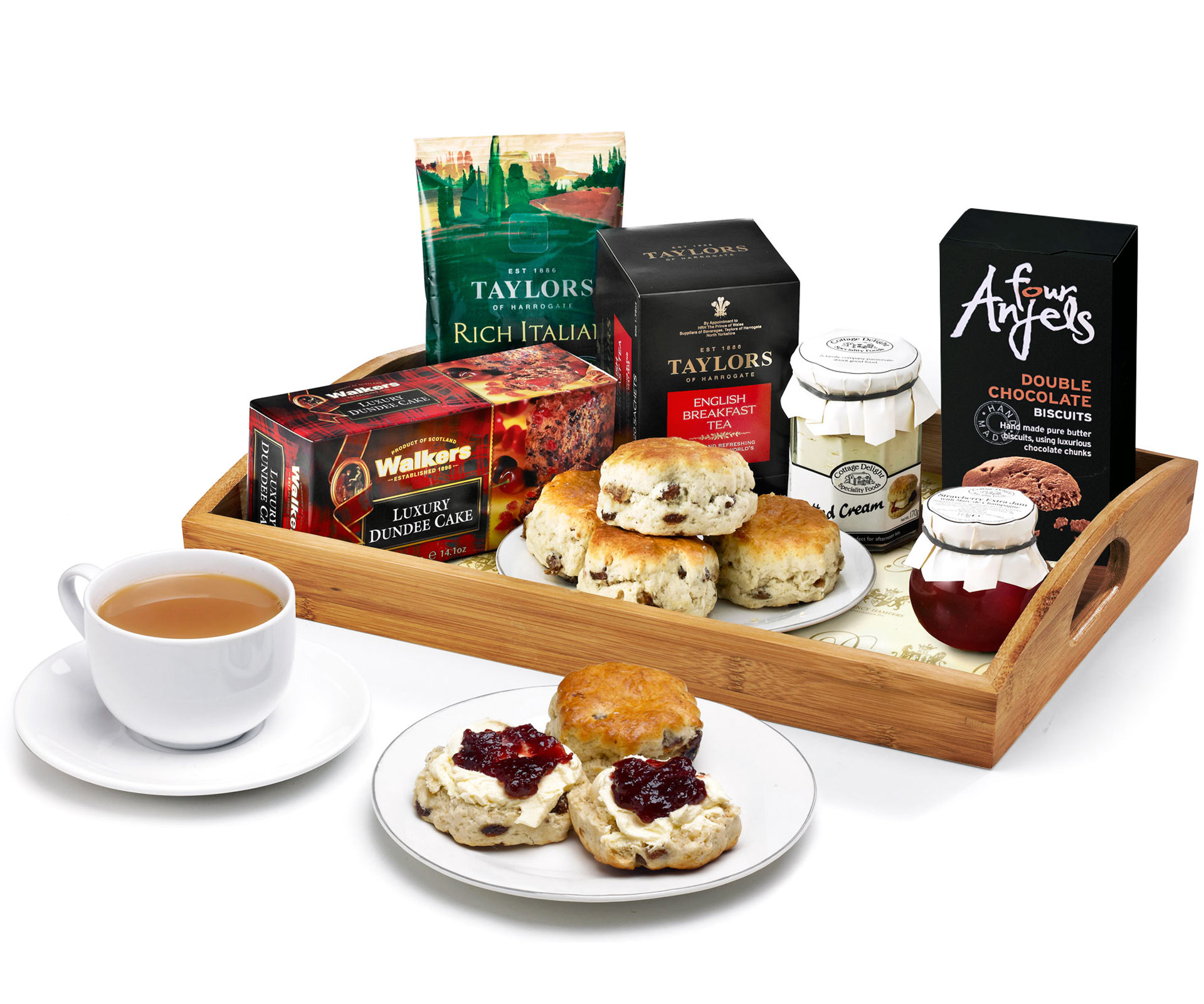 Afternoon Tea Scones Gift Set Regency Hampers
