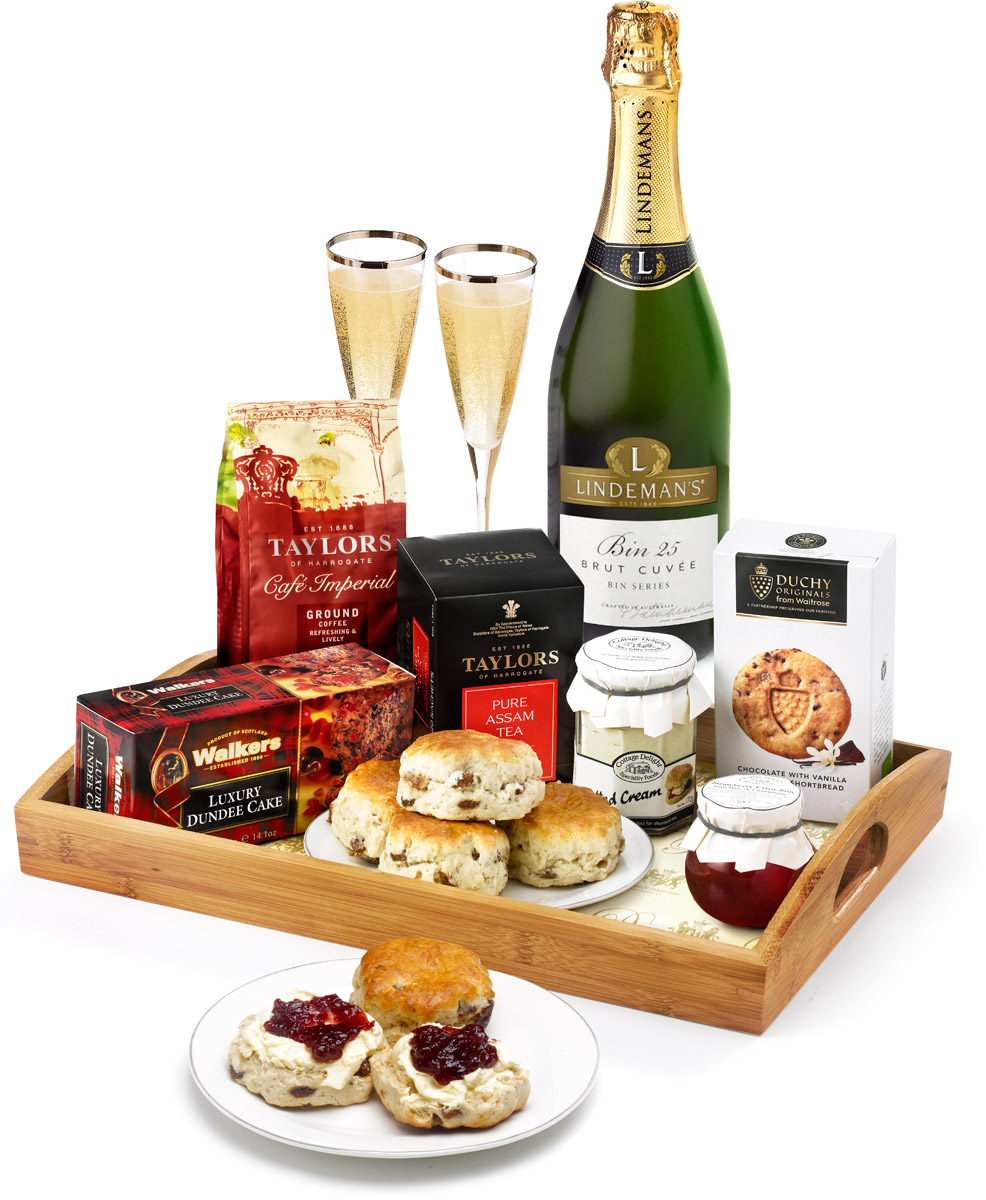 The Afternoon Tea & Bubbly Gift Tray
