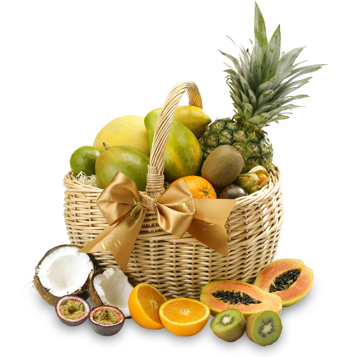 Get Well Soon The Exotic Fresh Fruit Basket