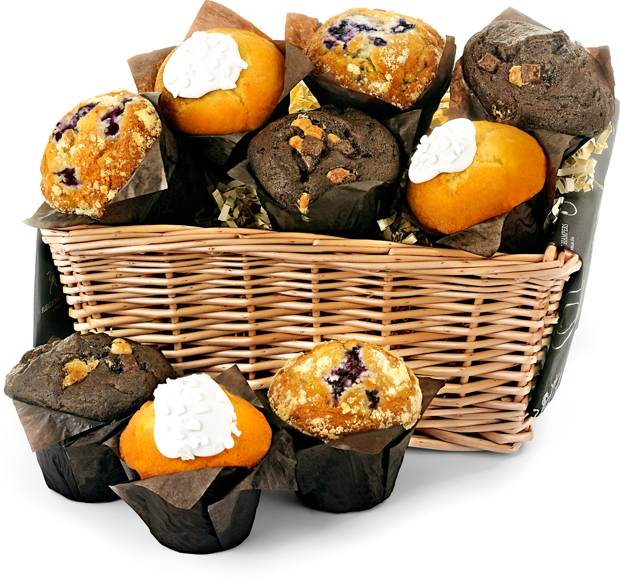 Fresh Muffin Share Basket