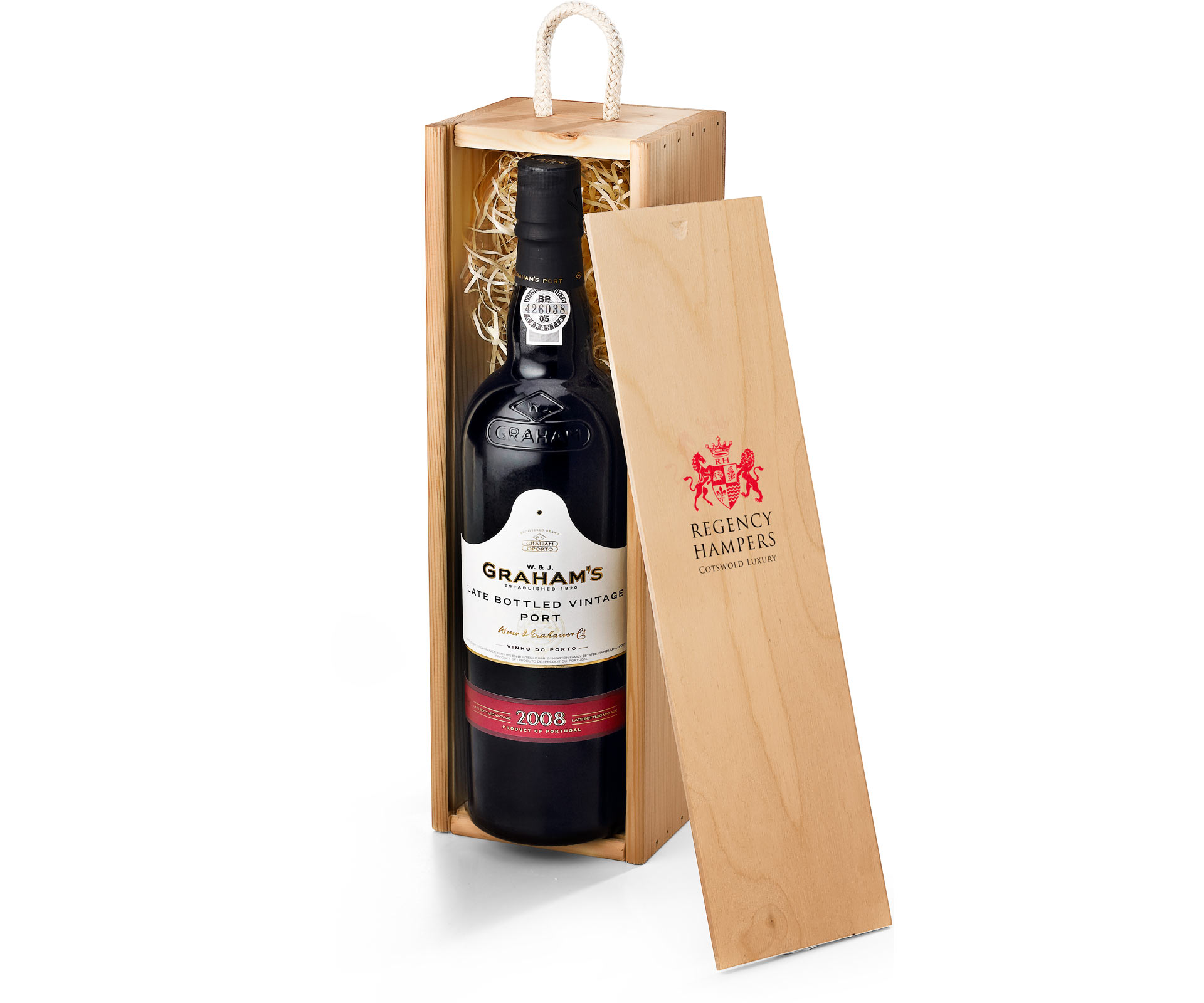 Grahams Lbv Port In Wooden Gift Box Regency Hampers