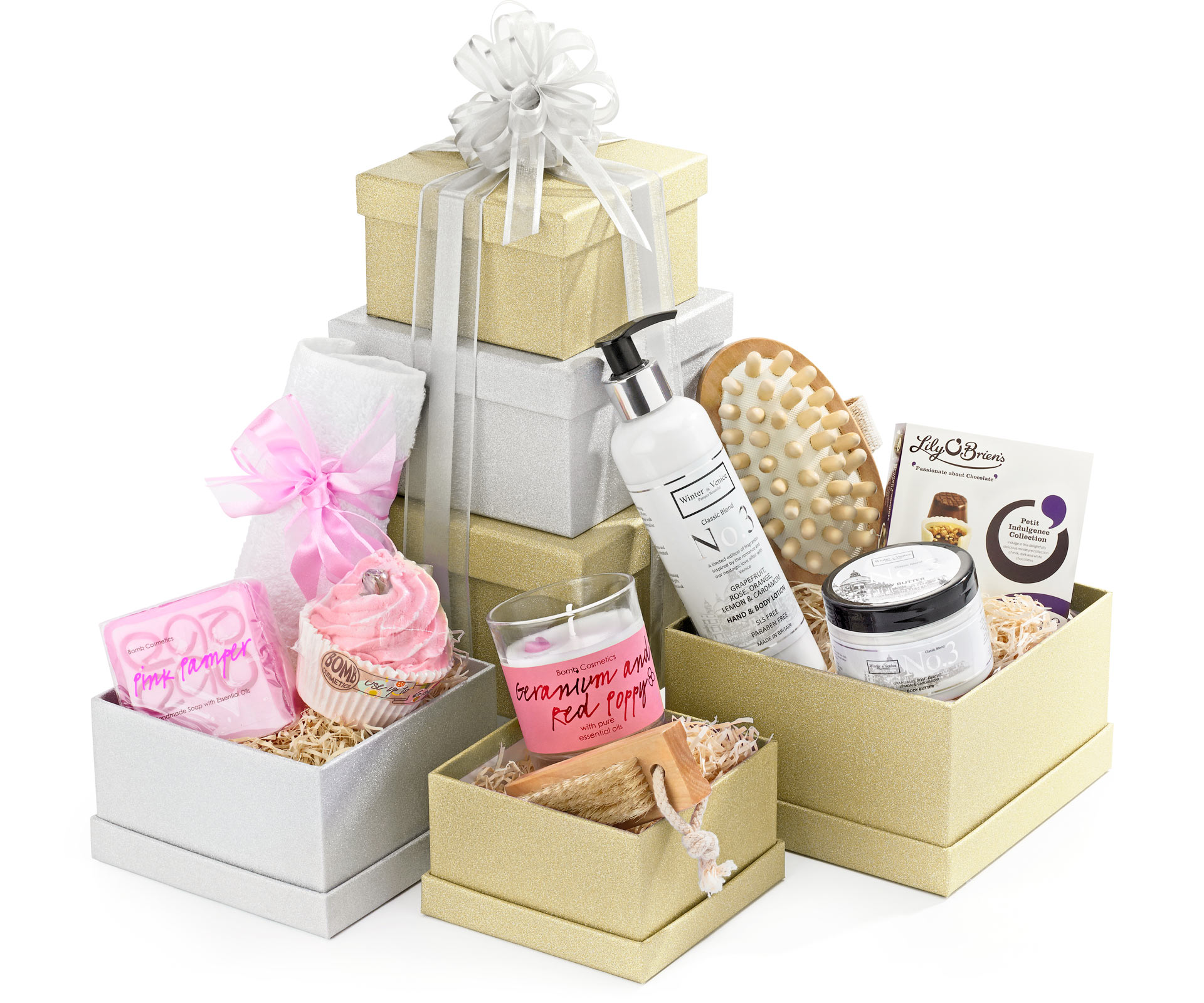 Perfect Pamper Gift Tower